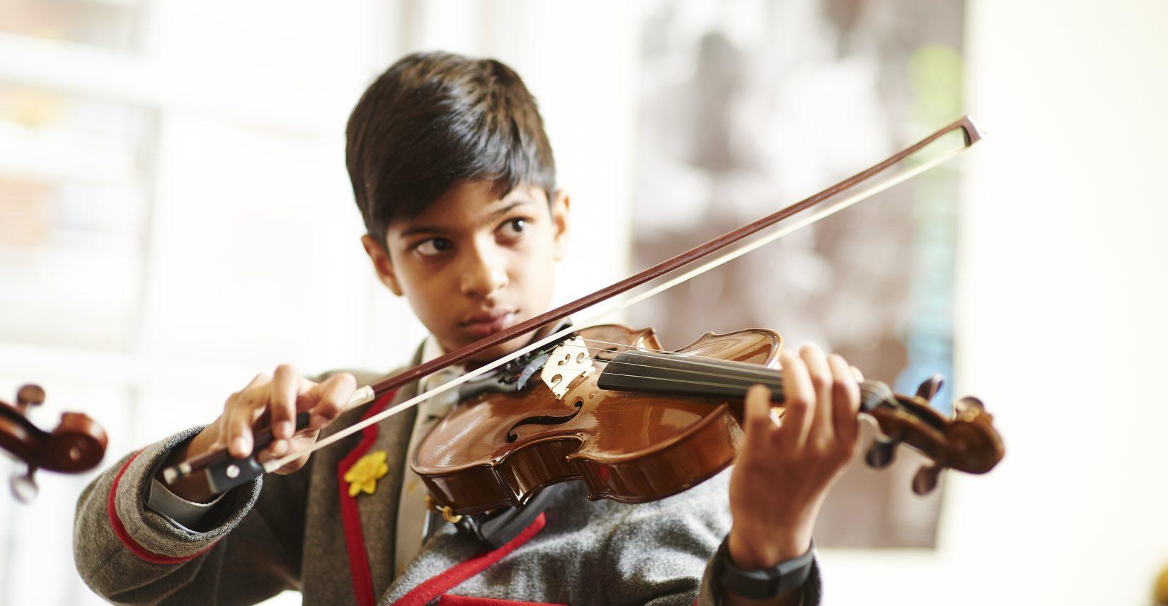 violin-practise